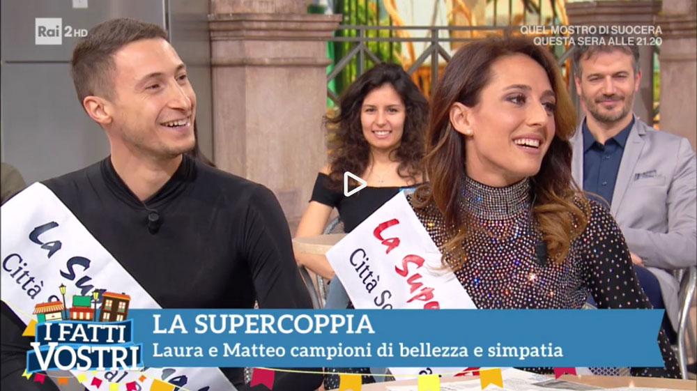 La Supercoppia Italiana 2018 a I Fatti Vostri su RAIDUE